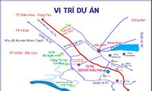 Bán đất nền dự án giá rẻ với DT: 100m2, vị trí Tân Thành - BRVT