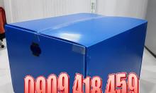 Thùng nhựa pp danpla đáy xếp, thùng nhựa carton đáy xếp tại Tp. HCM