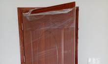 Cửa gỗ công nghiệp HDF cho cửa phòng ngủ, cửa nội thất