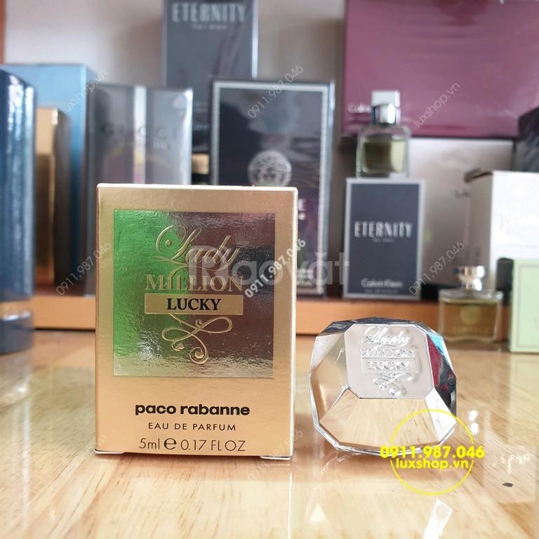 Nước hoa nữ Paco Rabanne Lady Million EDP 5ml chính hãng (Tây Ban Nha)