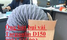 Kho hàng giá rẻ ống gió mềm thông gió, hút bụi công nghệ Hàn Quốc