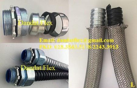 Thiết bị điện CN: ống ruột gà lõi thép dn25, khớp nối mềm inox dn65 (ảnh 1)