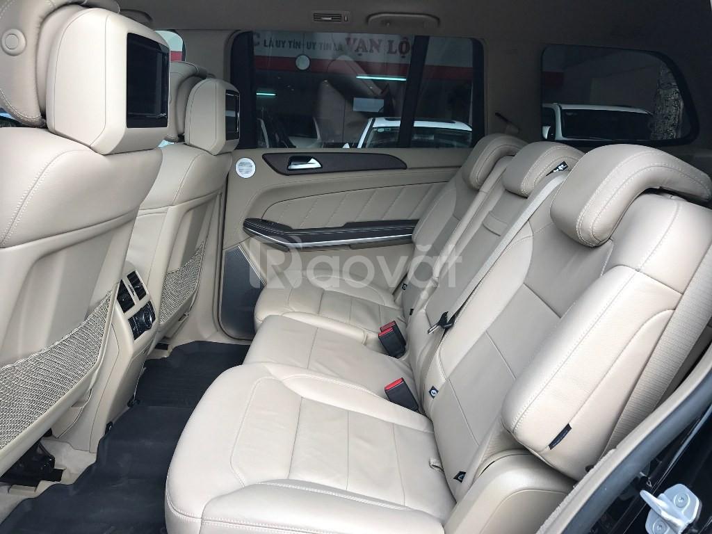 Mercedes GL500 2015 đen