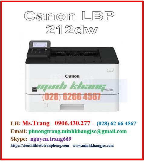 Máy in đen trắng Canon LBP 212dw giá rẻ