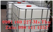 Tank đựng hoá chất 1000 lít bồn nhựa ibc 1000l đựng hoá chất