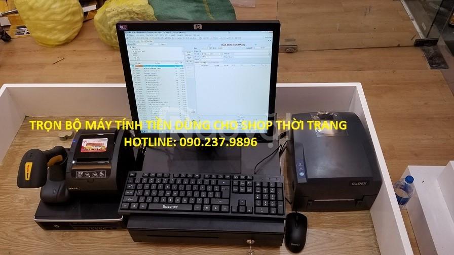 Lắp đặt máy tính tiền cho Shop Giày Dép tại Lâm Đồng Nhận lắp đặt