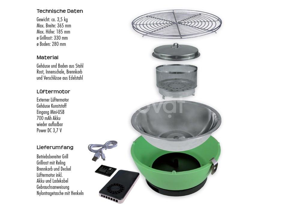 Bếp nướng than hoa không khói Phủ Đổng PD17-T116 (ảnh 3)