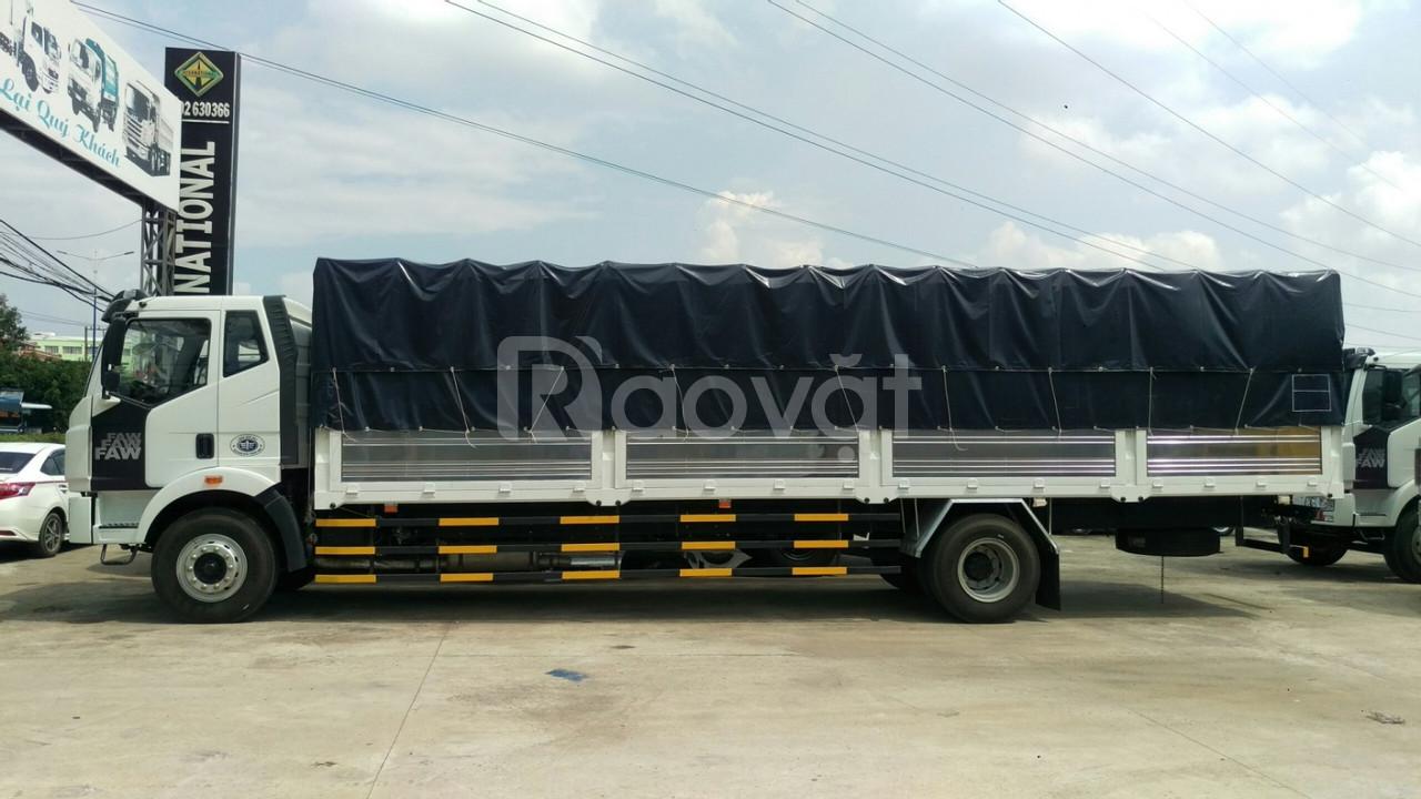 Xe tải Faw 8 tấn thùng dài 9.6m đời 2019