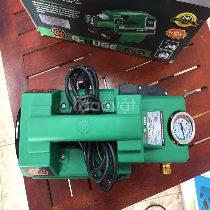 Máy rửa xe mini G-HUGE 1800w tại Hà Nội