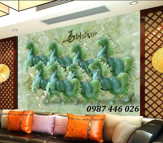 Tranh gạch men, tranh tường, tranh trang trí 3d