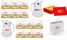 Sản xuất bộ ly tách,ấm trà làm quà tặng cuối năm Quảng Ngãi