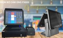 Máy tính tiền cảm ứng PX820 hai màn hình chính hãng giá rẻ