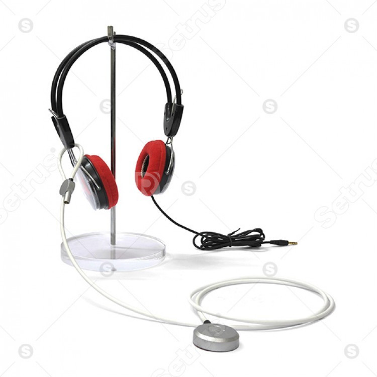 Dây khóa chống trộm tai nghe, máy ảnh (ảnh 1)