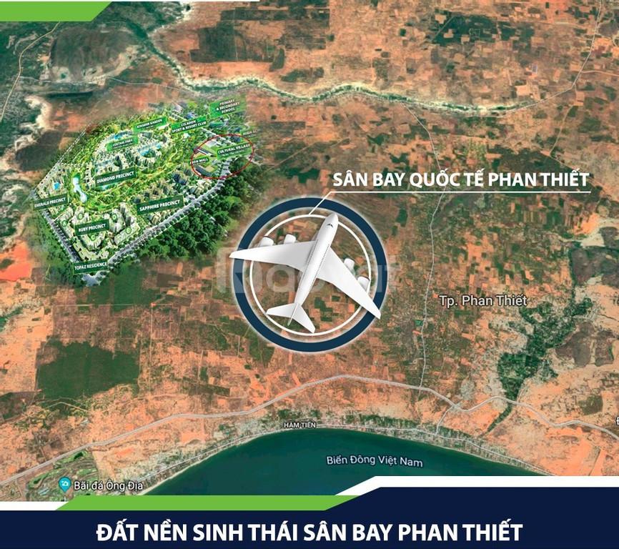 Đất nền sân bay Phan Thiết sổ riêng 570tr/1000m2, công chứng luôn