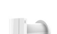 Máy cấp gió tươi hồi nhiệt gắn tường hoạt động 2 chiều song song