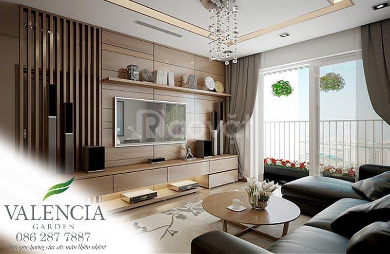 15 căn ngoại giao Valencia Garden quận Long Biên, 02 phòng ngủ 61m2