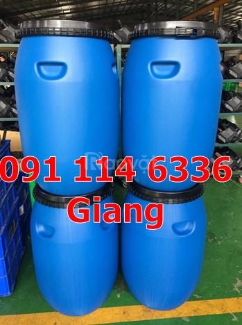 Thùng phuy sắt đựng hoá chất thùng phuy nhựa 220 lít thùng phuy 220l
