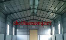 Cho thuê nhà xưởng gần ga Yên Viên Gia Lâm Hà Nội DT 2000m2 giá tốt