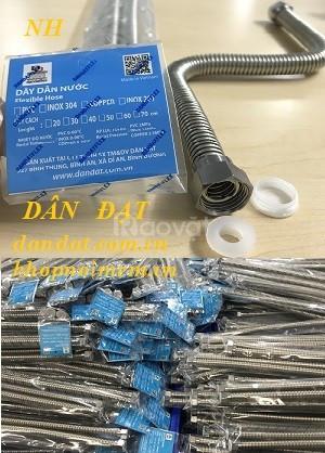 Bán ống dẫn nước nóng lạnh inox, ống cấp nước mềm, ống dẫn nước mềm