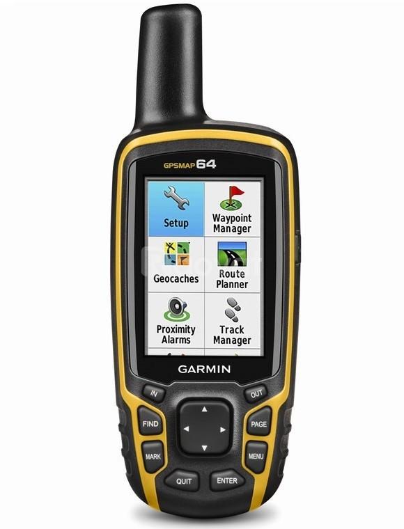 Máy đo diện tích đất rừng gps Garmin MAP 64 cầm tay