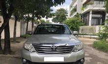 Cần bán xe Toyota Fortuner 2.5G (4x2), Model 2013, màu bạc