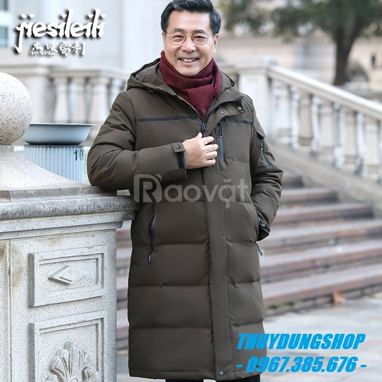 Áo phao nam trung niên dày ấm dành cho các bác, các chú, các ông