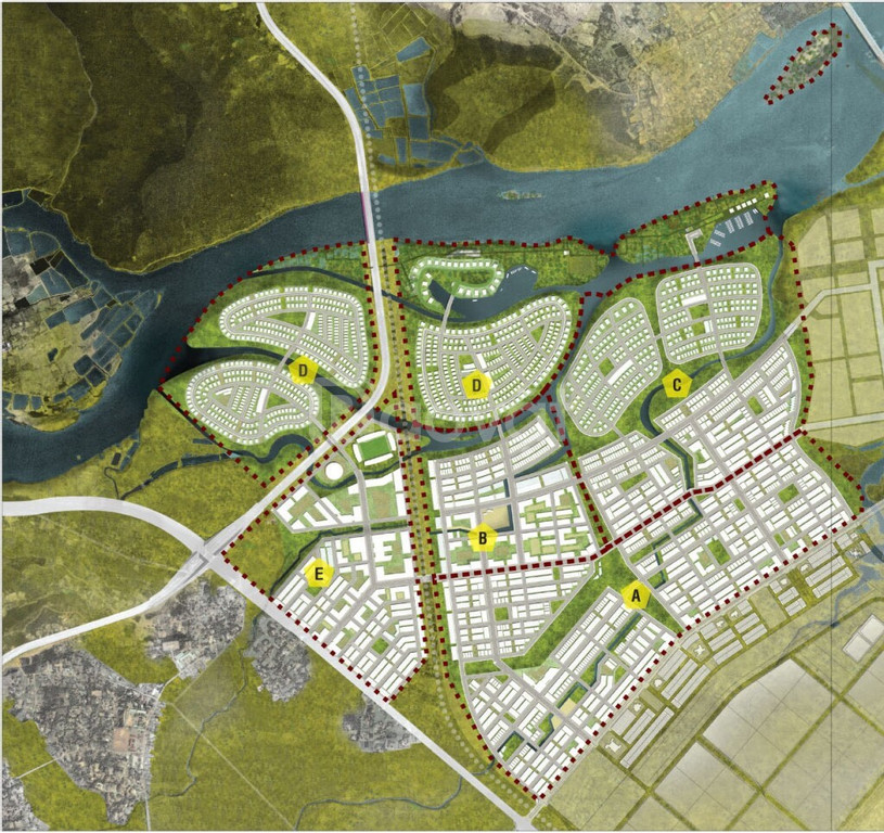 2 lô góc suất ngoại giao quy hoạch khu thương mại tại Golden Hills