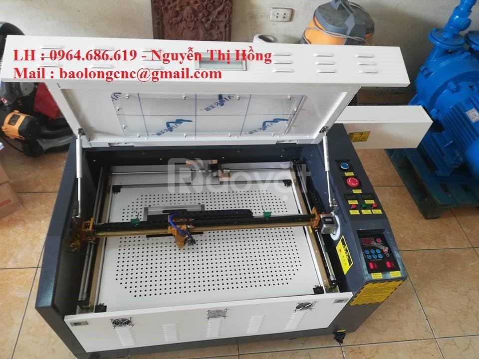 Máy laser 6040 cắt mica, máy laser khắc dấu mini chuyên nghiệp