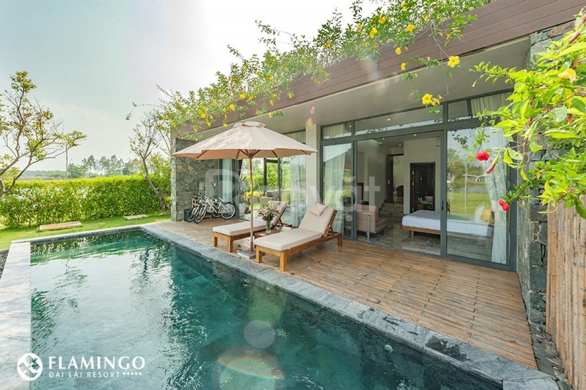 Biệt thự Legend view hồ cuối cùng FLamingo Đại Lải