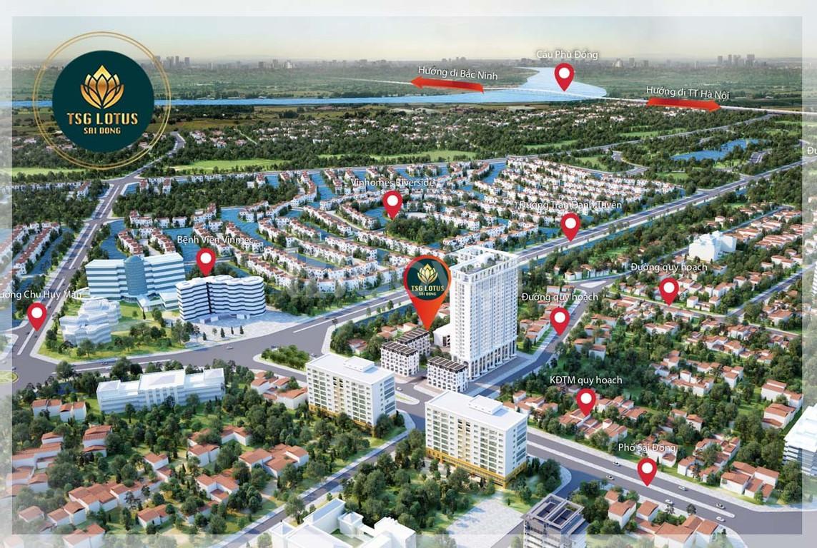 Tặng gói quà tặng hơn 130 triệu đồng khi mua căn hộ TSG Lotus Sài Đồng