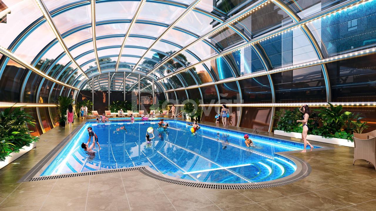 Bán chung cư Việt Đức Complex, 92m2, hoàn thiện cơ bản, giá rẻ