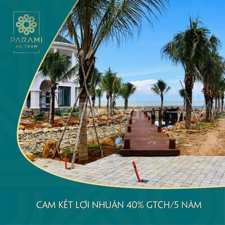 Parami Hồ Tràm, suất ưu đãi TT 30% nhận ngay quý IV/2019.