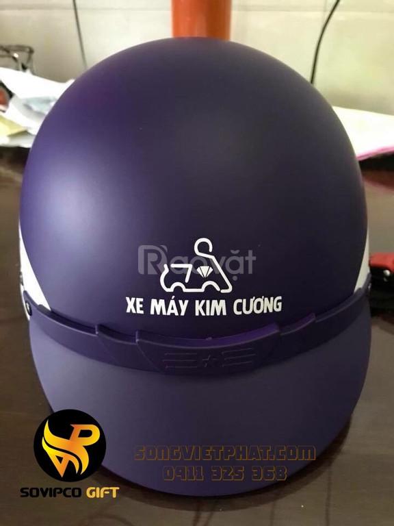 In mũ bảo hiểm quà tặng tại Đà Nẵng