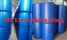 Thùng phuy nhựa nắp hở 220 lít,thùng phuy sắt nắp kín 220 lít cũ - mới