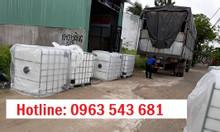 Bán thùng cũ đựng hóa chất 1000 lít, bồn cũ đựng hóa chất 1000 lít