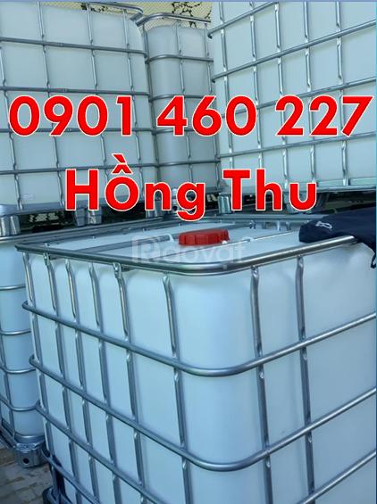 Tank nhựa cũ 1000 lít giá bao nhiêu,thùng nhựa ibc 1000 lít