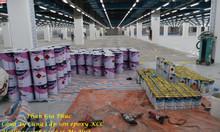 Sơn nền Epoxy, sơn tự phẳng Epoxy kcc Unipoxy Lining kháng axit