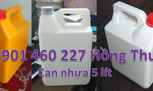 Can nhựa 1 lít giá sỉ bán can nhựa 2 lít, 4 lít, 5 lít, can hoá chất