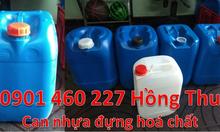 Can nhựa 20 lít màu xanh, can nhựa 25l, giá can nhựa 30l chứa hoá chất