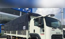 ISUZU 15 tấn, thùng bạt 9.3m, KM máy lạnh 2 chiều chính hãng