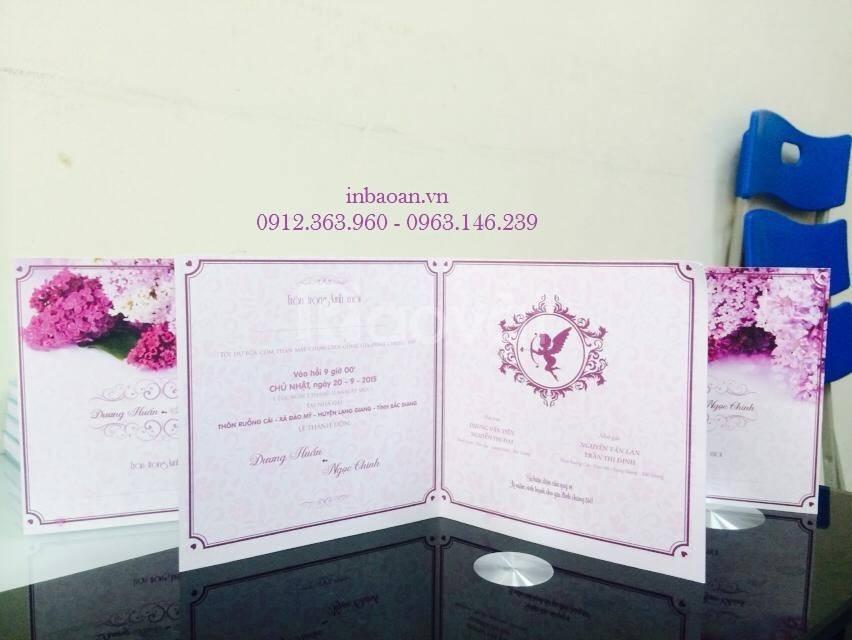Bán phôi thiệp cưới, in thiệp cưới độc quyền, thiết kế thiệp cưới