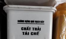 Cần mua thùng rác y tế 20 lít, 15 lít màu trắng TP HCM