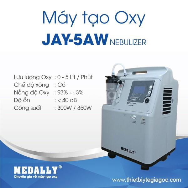 Máy tạo oxy- thiết bị y tế mang đến sự dễ chịu cho cuộc sống- Đà Nẵng