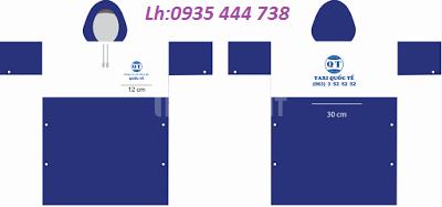Áo mưa giá rẻ-vật phẩm nhận diện thương hiệu (ảnh 1)