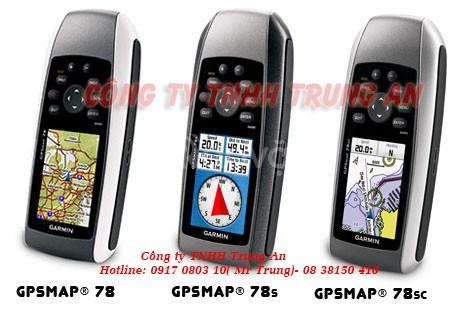 Máy đo diện tích đất rừng GPS Garmin MAP 78S