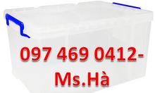Thùng nhựa vuông Duy Tân, thùng nhựa vuông trồng rau sạch