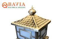 Đèn trụ cổng đồng BAVIA ML-H5003MS