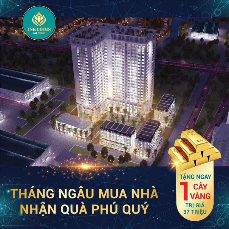 Ưu đãi lớn từ CĐT dự án TSG Lotus Long Biên, chiết khấu 3%
