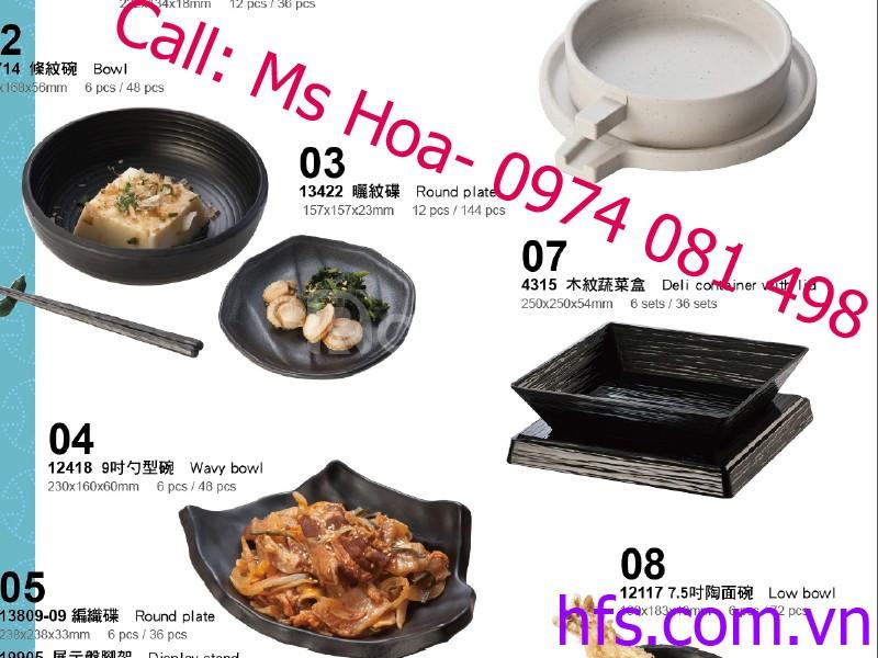 Bát đĩa phíp cao cấp, bát đĩa Nhật Bản giá rẻ