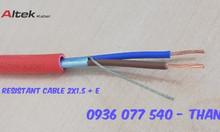 Cáp tín hiệu chống cháy 2x1.5mm2 + E